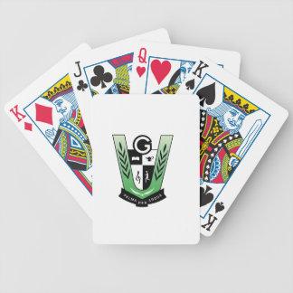 Fahrrad-Spielkarten mit Graydon Wappen Bicycle Spielkarten