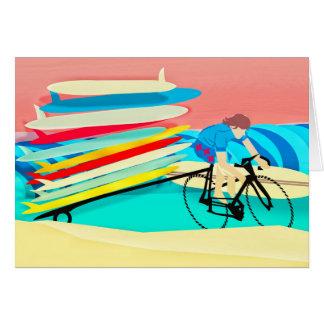 Fahrrad-tragende Surfbretter Karte