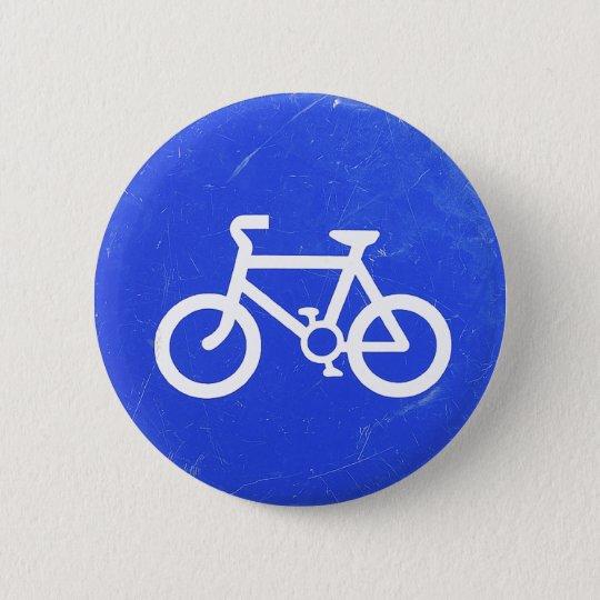 Fahrrad-Verkehrszeichen-Knopf Runder Button 5,1 Cm