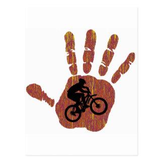 Fahrrad-Wüsten-Ausdehnung Postkarte