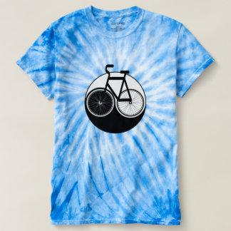 Fahrrad Yin Yang Krawatten-Shirt T-shirt