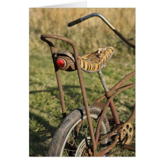 Fahrrad-Zyklus-radfahrender Mitteilungskarte