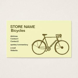 Fahrradladen Visitenkarte