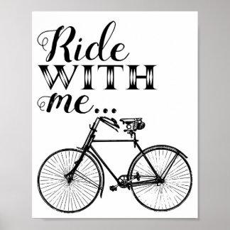 Fahrt mit mir Plakat