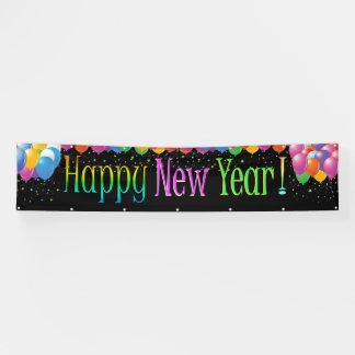 Fahrwerk-guten Rutsch ins Neue Jahr-Fahne 3 Banner