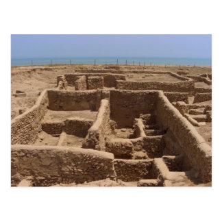 Failaka Insel-griechische Ruinen, Kuwait Postkarte