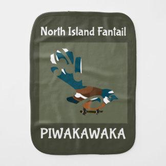 Faintail Neuseeland Vogel Baby Spucktuch