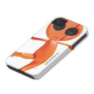 Faire du surf des neiges la caisse audacieuse étra étui iPhone 4