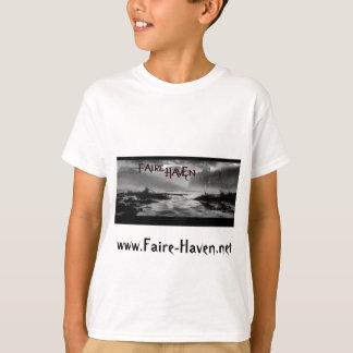 Faire Hafen-klassisches T-Stück für Kinder T-Shirt