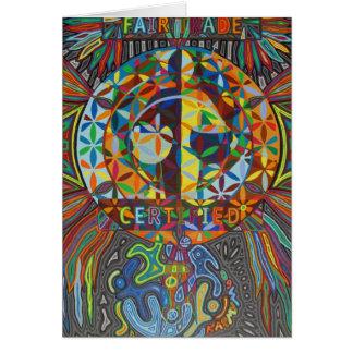 fairtrade 2009 (greeting card) grußkarte