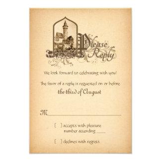 Mittelalter Einladungen Mittelalter Einladungskarten