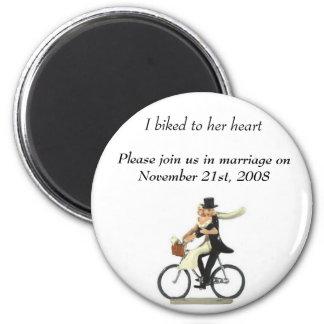 faites gagner la date 2, j'a fait du vélo à son co magnet rond 8 cm