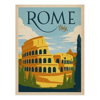 Faites gagner la date | Italie, Rome Carte Postale