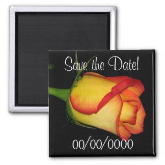 Faites gagner la date ! magnet carré