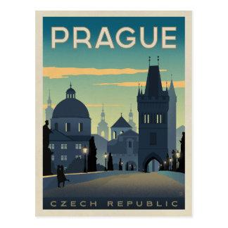 Faites gagner la date | Prague, République Tchèque Carte Postale