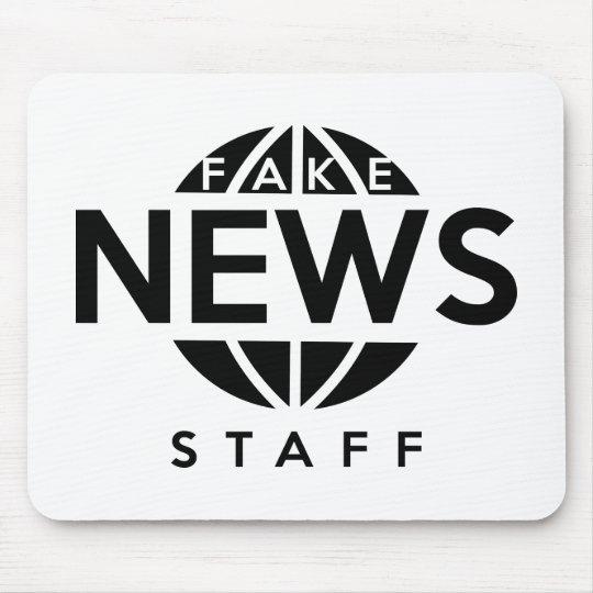 Fake-Nachrichten-Personal Mauspads