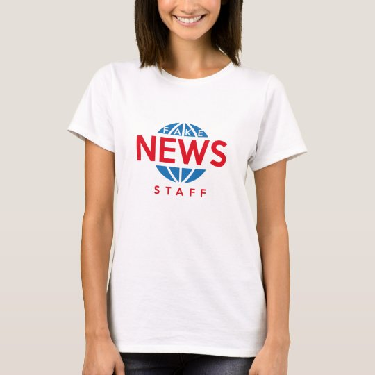 Fake-Nachrichten-Personal T-Shirt