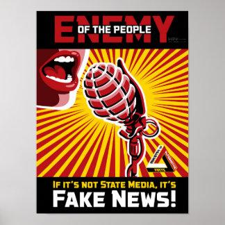 Fake-Nachrichten Poster