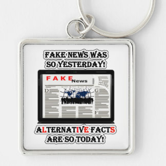 Fake-Nachrichten-u. Alternativtatsachen Schlüsselanhänger