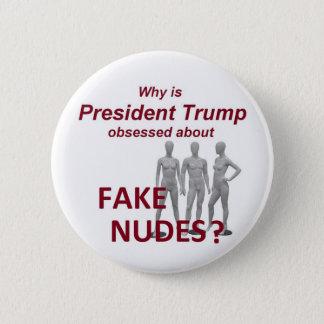 Fake NUDES Nachrichten Runder Button 5,1 Cm