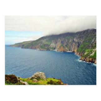 Falaises Irlande Carte Postale