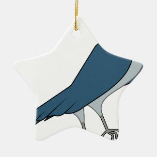 Falke #3 keramik Stern-Ornament