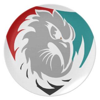 Falke-Sicherheits-Schutz-Schild Melaminteller