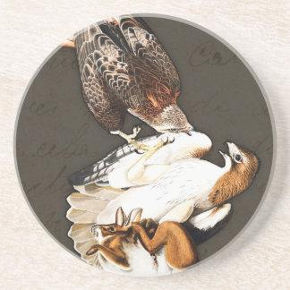 Falken jagen Vintages Bierdeckel