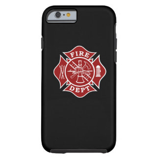 Fall 6/6s iPhone Malteserkreuz Feuer-Abteilung Tough iPhone 6 Hülle