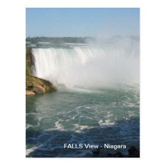 Fall-Ansicht: Niagara USA Kanada Postkarte