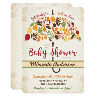 Fall-Babyparty-Einladung 12,7 X 17,8 Cm Einladungskarte