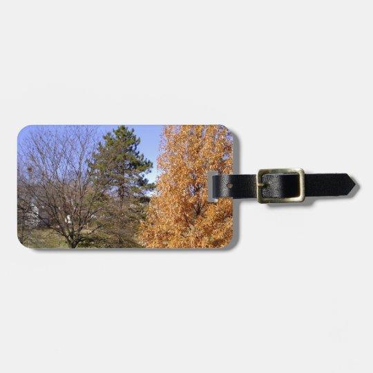 Fall-Bäume Gepäckanhänger