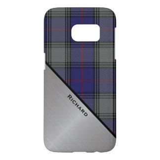 Fall Clan Kinnaird Tartan-karierter Samsung S7