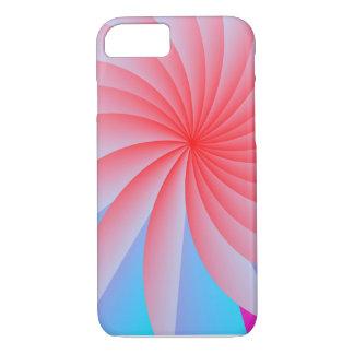 Fall des Leidenschafts-Blumen-Rosa-iPhone7 iPhone 8/7 Hülle