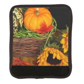 Fall-Ernte-Sonnenblumen Gepäckgriff Marker