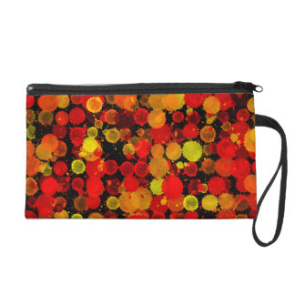 Fall-Herbst-Farben-Spritzenwristlet-Tasche Wristlet