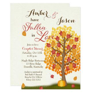 Fall in Liebe-Brautparty-Einladung 12,7 X 17,8 Cm Einladungskarte