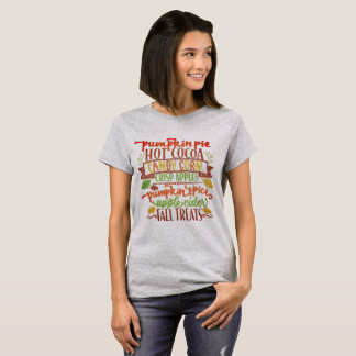 Fall-Leckereien T-Shirt