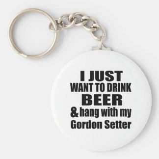 Fall mit meinem Gordon-Setzer Schlüsselanhänger