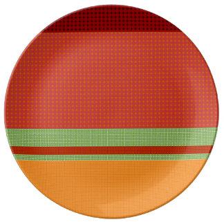 Fall-Muster NO.3: Dekorative Porzellan-Platte Teller Aus Porzellan