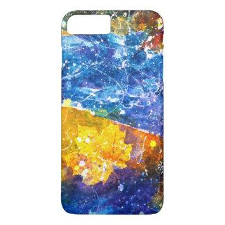 Fall-River Aquarell-Telefonkasten iPhone 8 Plus/7 Plus Hülle