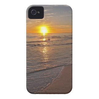 Fall: Sonnenuntergang durch den Strand Case-Mate iPhone 4 Hülle