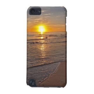 Fall: Sonnenuntergang durch den Strand iPod Touch 5G Hülle