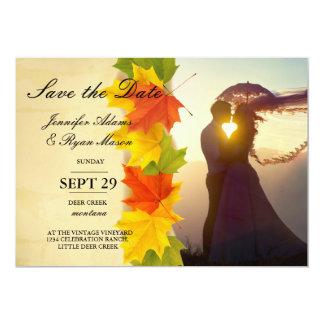 /fall-Thema 12,7 X 17,8 Cm Einladungskarte