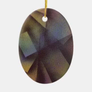 Fallende Blätter Keramik Ornament