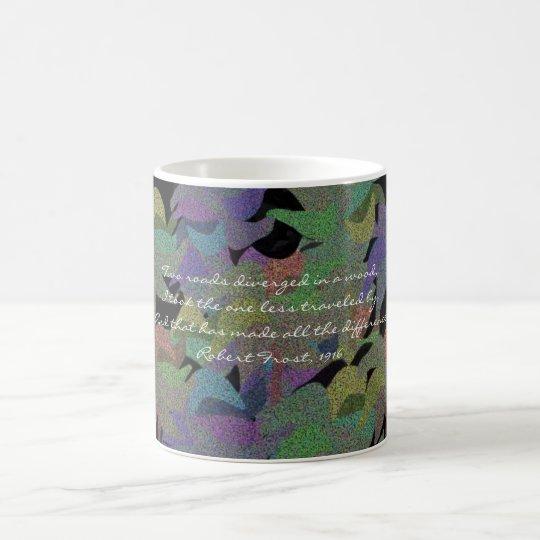 Fallende Blätter-Tasse Kaffeetasse