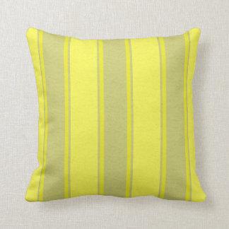 Fallengelassene Linien Gelb-Dekor-Weiche Kissen