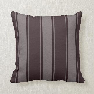 Fallengelassene Linien Grau-Brown Dekor-Weiche Kissen