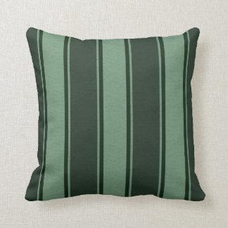 Fallengelassene Linien Grüntöne-Dekor-Weiche Kissen