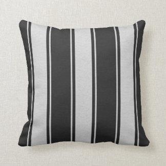 Fallengelassene Linien Weiß-Schwarze Dekor-Weiche Kissen